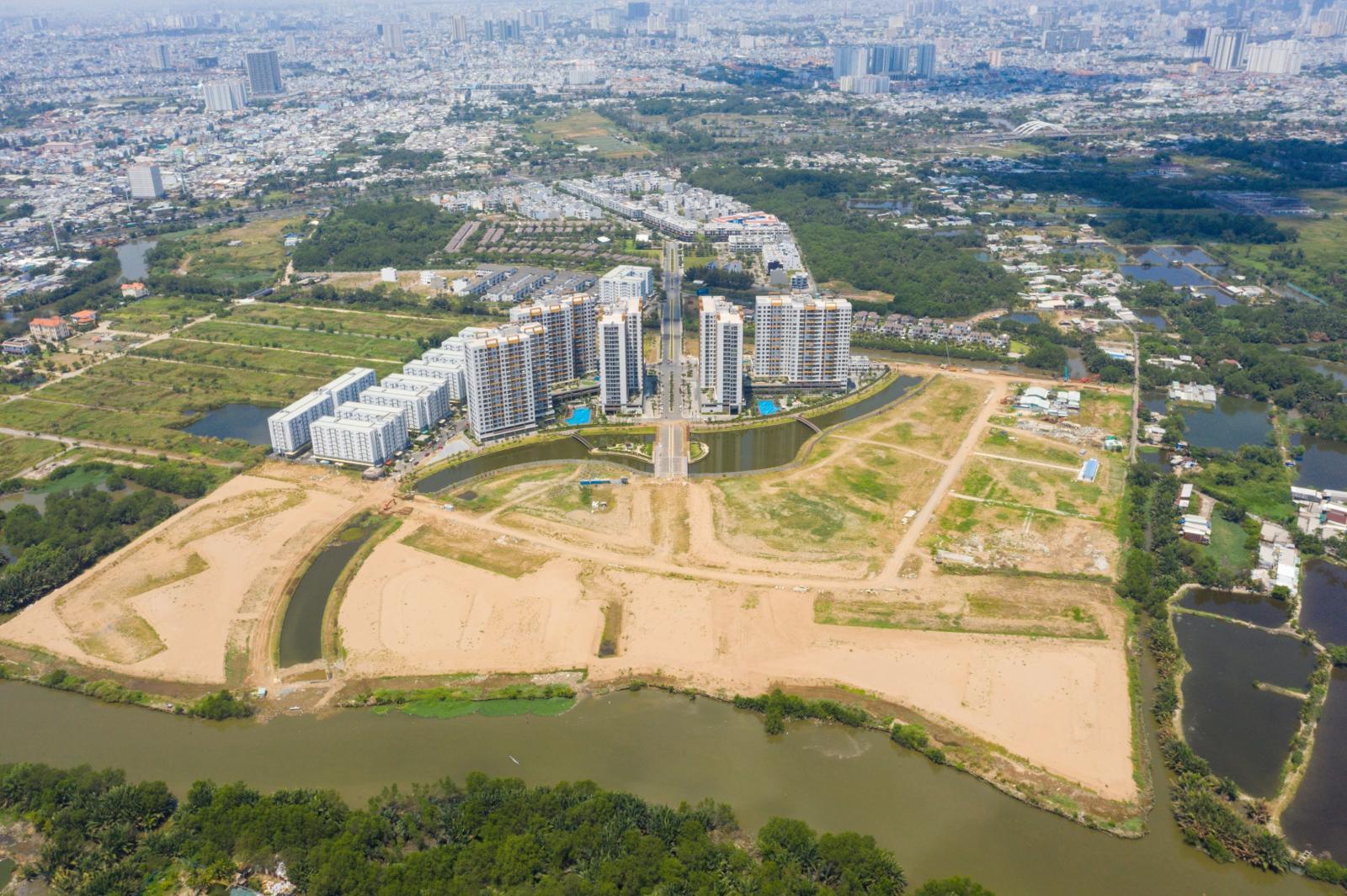 Lợi thế quỹ đất khiến khu Nam TP.HCM trở thành tâm điểm phát triển các dự án đại đô thị quy mô lớn