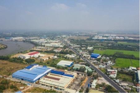 Sự xuất hiện của các cụm công nghiệp tại Long An thúc đẩy giá trị bất động sản trên địa bàn