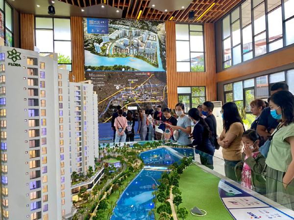 Giai đoạn 2 của Mizuki Park đang thu hút nhiều khách hàng quan tâm