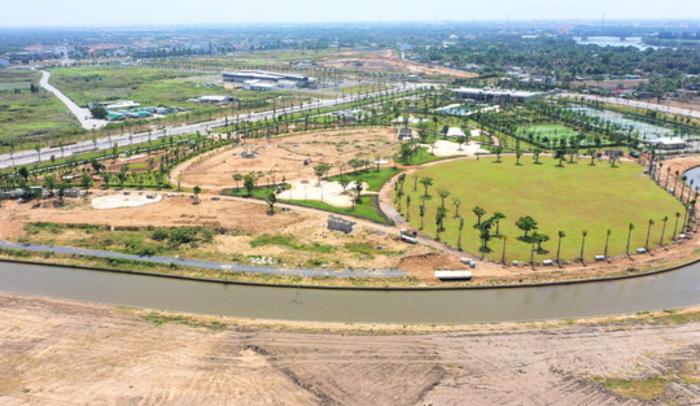 Hệ sinh thái tiện ích tại Waterpoint đang được phát triển mạnh mẽ.