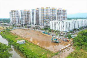 Trường tiểu học Bình Hưng 2 với quy mô 10.000m2 đang được thi công tại Mizuki Park.