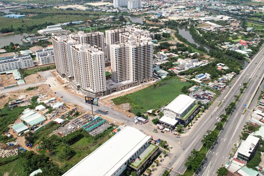 Giá và giao dịch căn hộ tại TP.HCM tăng mặc Covid