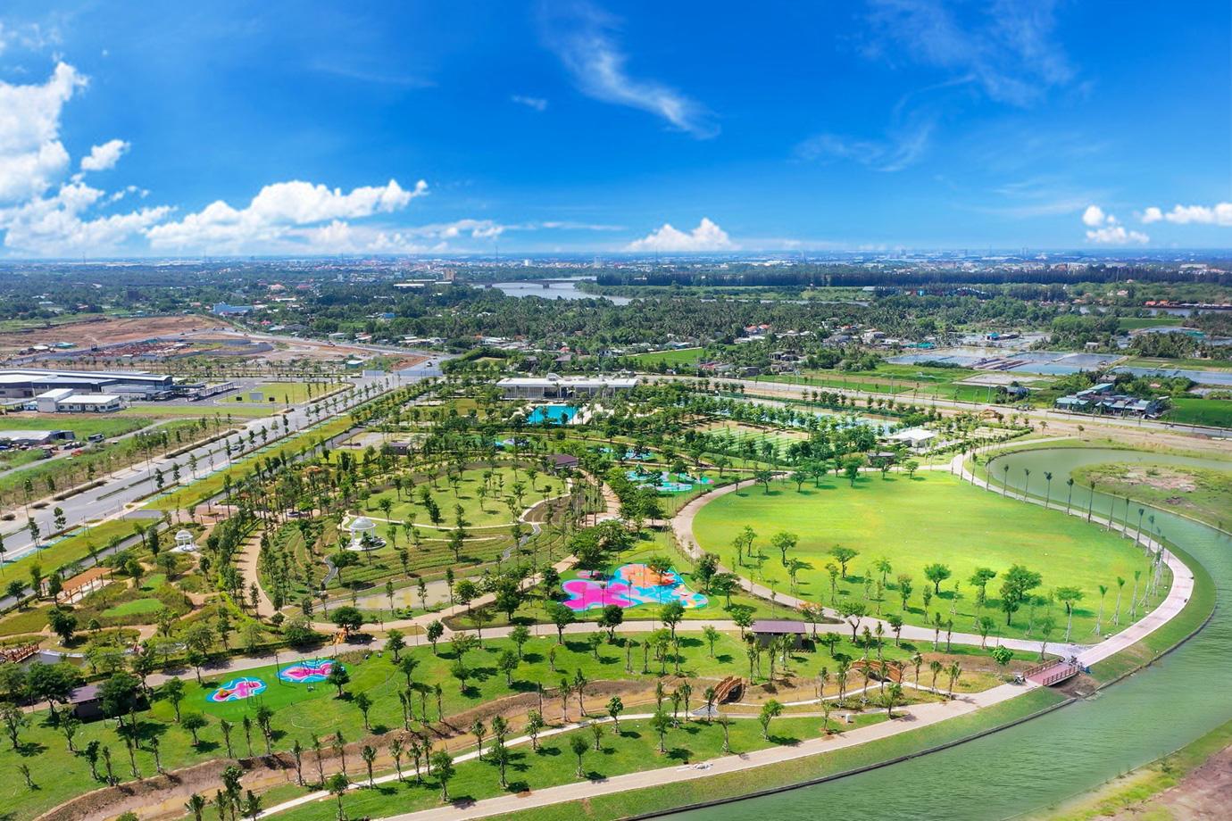 KĐT tích hợp Waterpoint do Nam Long Group phát triển tại Long An.