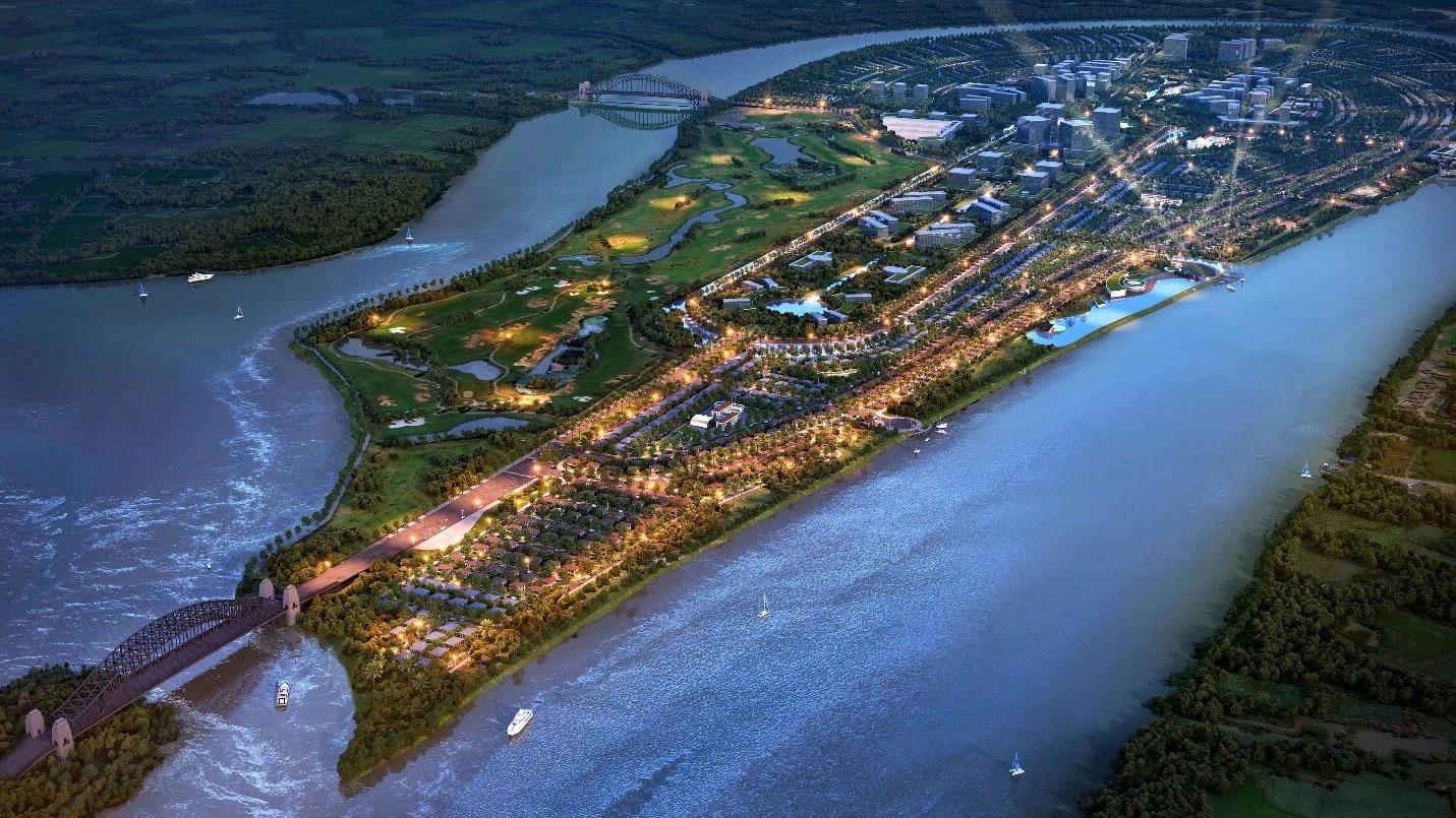 Khu đô thị quy mô 45.5 ha tại Đồng Nai