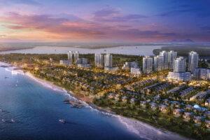 Phối cảnh tổng thể dự kiến của khu đô thị Nam Long Đại Phước 45ha