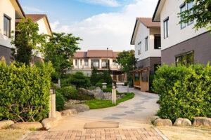Khu đô thị tích hợp Waterpoint do Tập đoàn Nam Long đầu tư tại Long An.